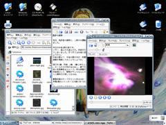 Turbolinuxのスクリーンショット