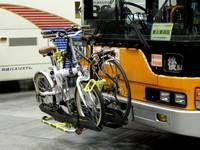 自転車を積めるバス