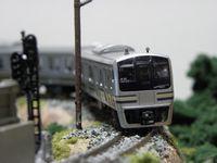 モジュール1号とE217系