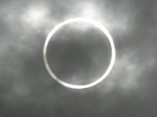 金環日食20120521横浜